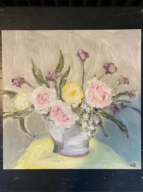 September Roses with Verbena 2