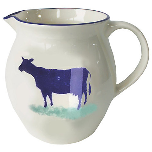 Dorset Delft Small Cow Jug
