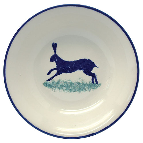 Dorset Delft Hare Cereal Bowls - Set of 6