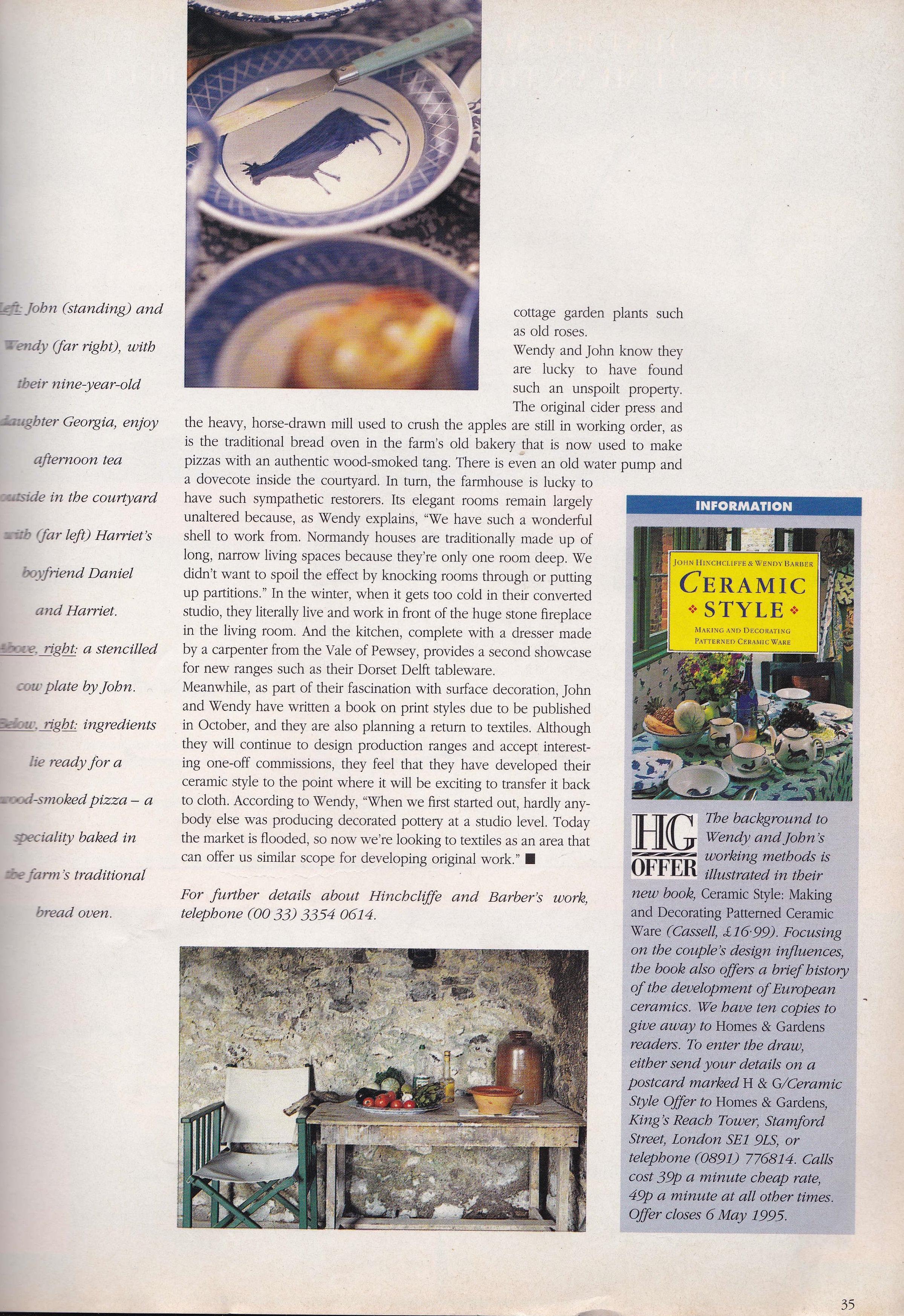 Homes & Gardens 1995