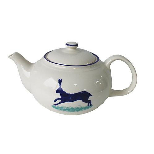 Dorset Delft Hare Teapot