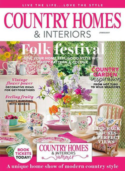 Country Homes & Interiors June 17
