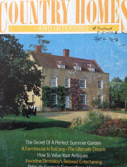 Country Homes & Interiors Aug 1986