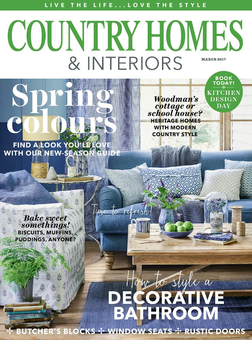 Country Homes & Interiors March 17