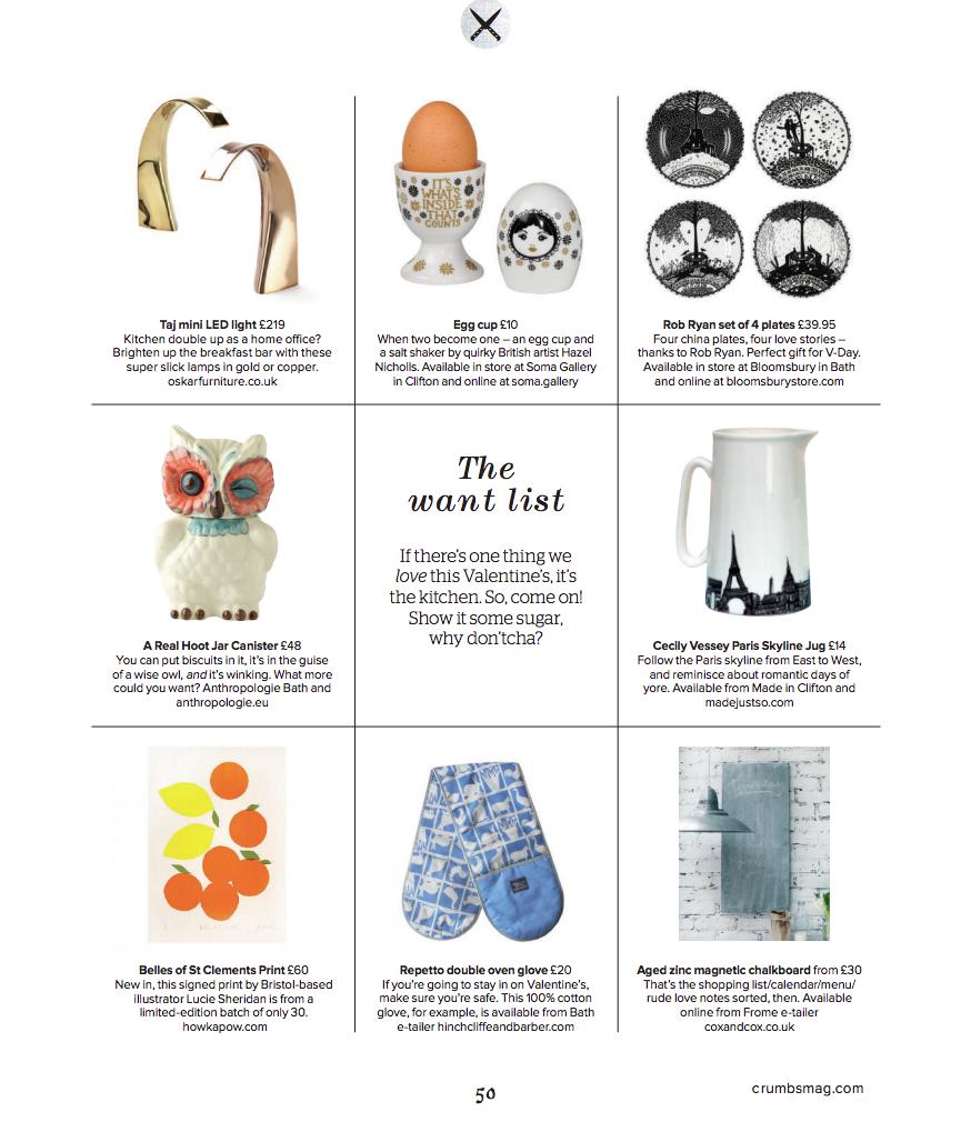 Crumbs Magazine Feb 2015