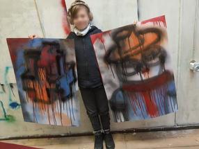 Graffiti masterclasses for teenagers