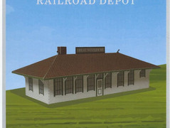 Great Western Depot model now available at the Loveland Museum!