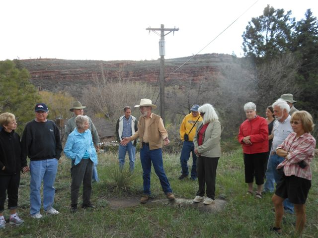 Historical BusTour at Sylan Dale Ranch 5-11-13