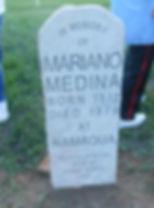 Mariano Medina headstone