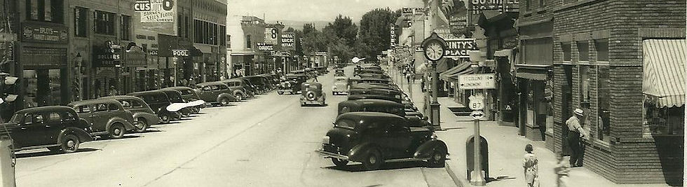Loveland Colorado 4th street historical