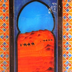 ELIZABETH MAVRICK, Arabian Days, Kiln fo