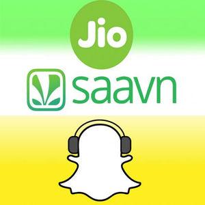 Snapchat, a Jio sawan partner for music sharing