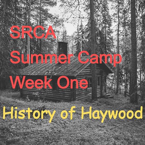 SRCA Summer Camp - Week 1