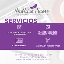 Indhira Suero servicios