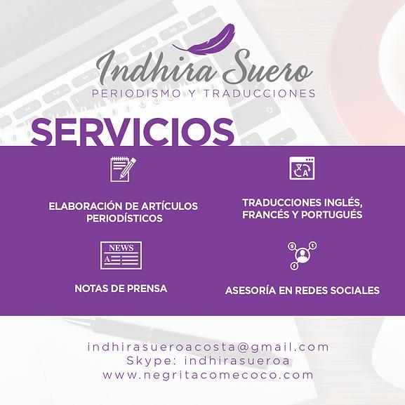 Servicios Indhira Suero