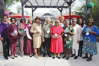 Group of 12 African-American wives