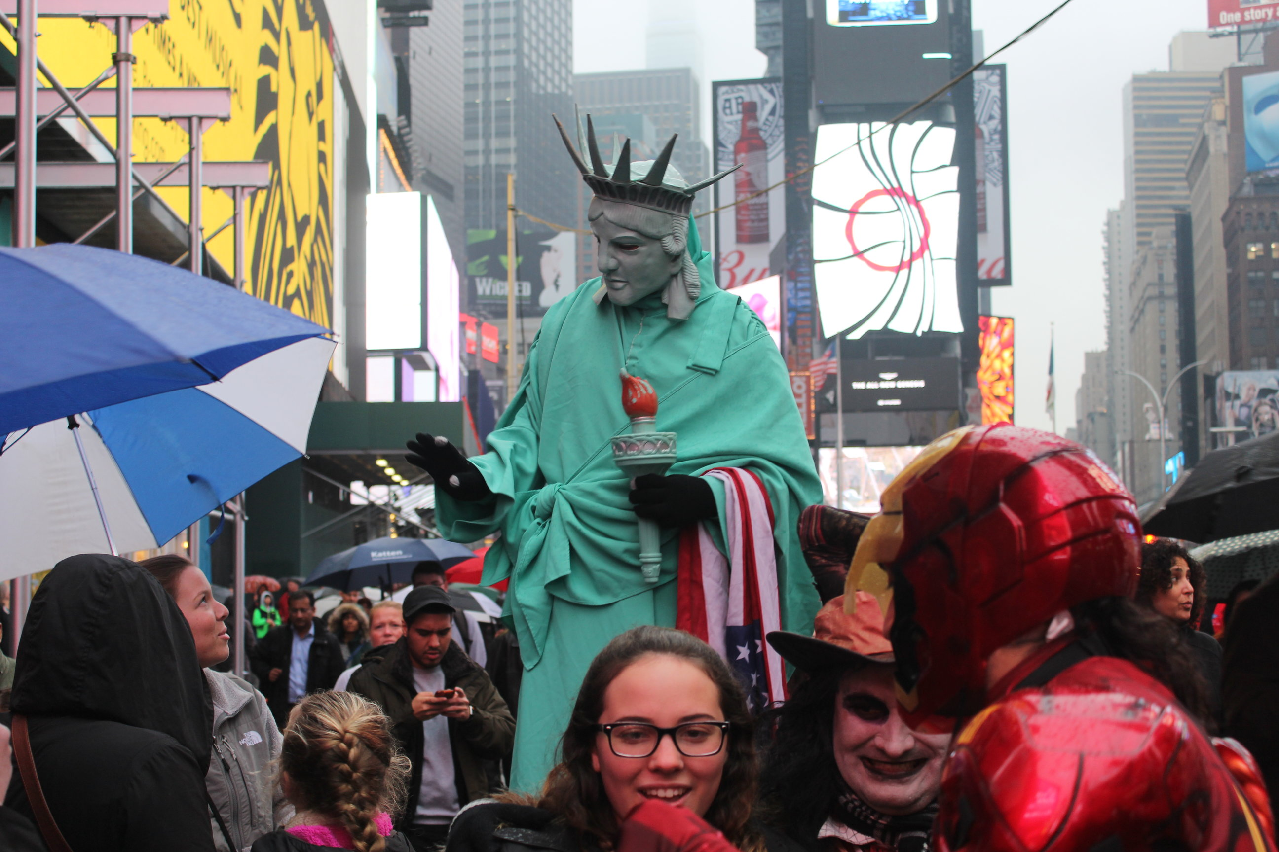 Estatua de Times Square