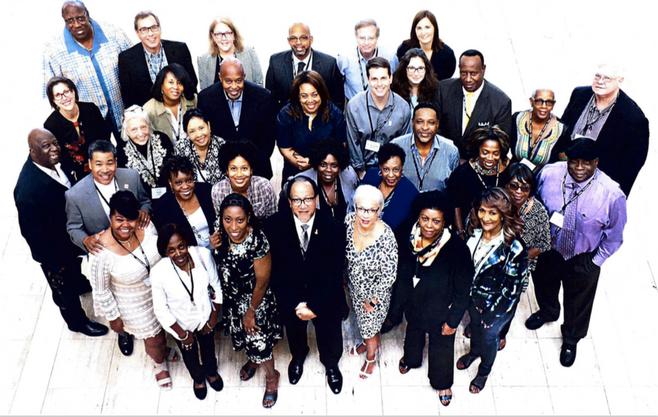 Black press journalists