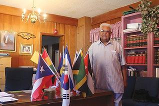 Bishop Leonard on his office