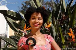 Indhira Suero journalist & Negrita Come