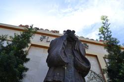 Estatua Barrio Chino Santo Domingo