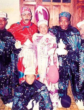 Carnavaleros dominicanos