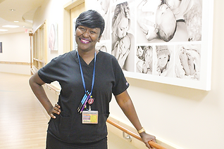 Jayda Taylor-Herring Blac midwife