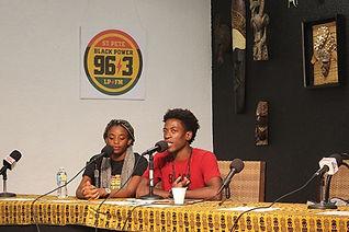 Presenters of the Uhuru Radio Show