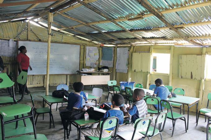 Escuela en Villa Mella Norte