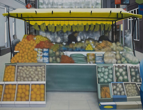 Richard Meaghan - Fruit and Veg Stall, Liverpool