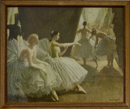 Laura Knight - The Ballet
