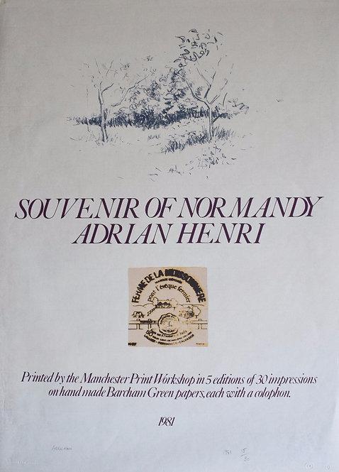 Adrian Henri - Souvenir of Normandy