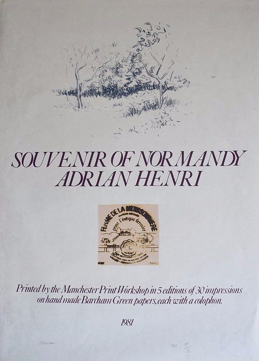 Adrian Henri Prints