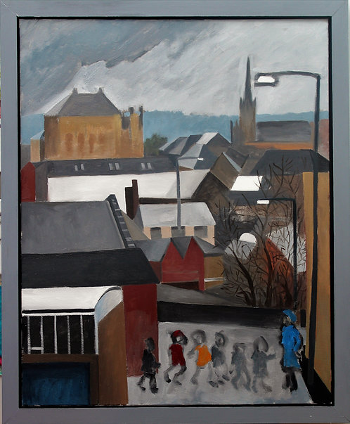 Anthony Taylor - View of Accrington from the old Fire Station 2015