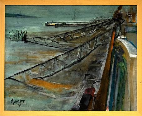Mike Absalom - Pier Head Landing Stage Sinks