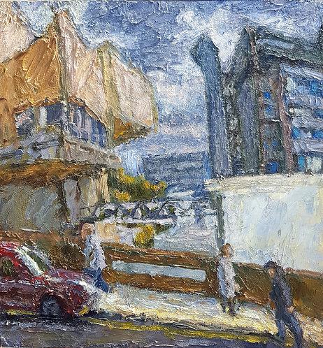 David Rankin - View of Royal Hospital Across Prescot Street