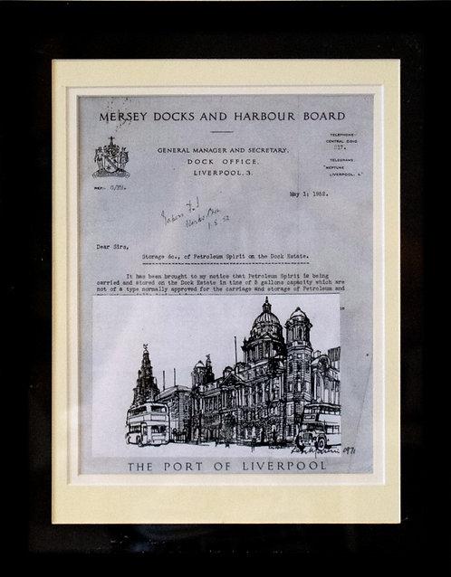 Ken Martin - Mersey Docks & Harbour Board