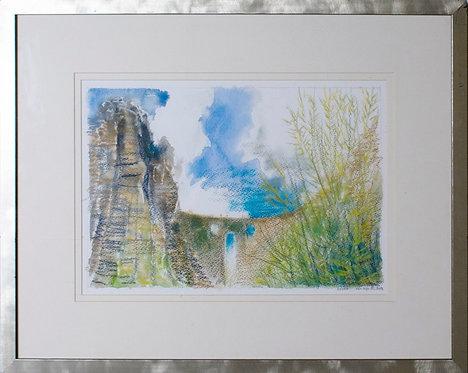 "Ken Martin - ""The Bridge at Ronda,"" Southern Spain"