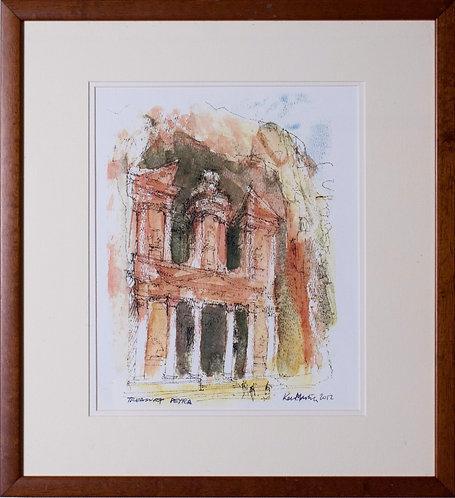 Ken Martin - The Treasury, Petra (Jordan's Ancient City)