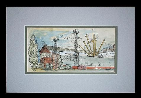 Ken Martin - Unloading Cargo (Liverpool Docks)