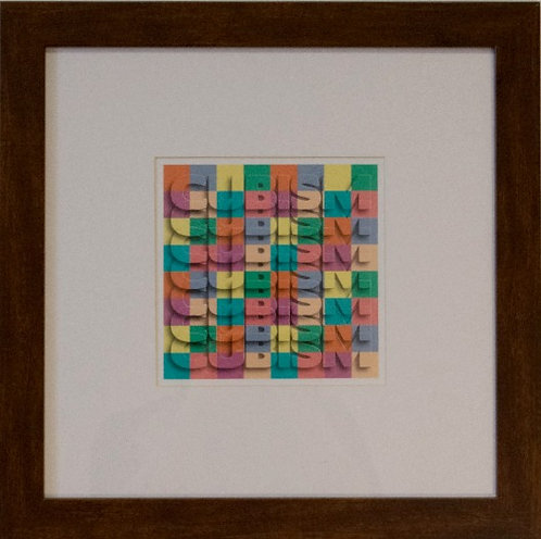 Anonymous - Cubist Print