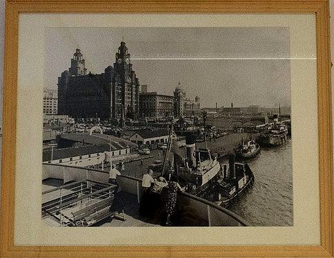 Stewart Bale - Liverpool Pier Head (1972)