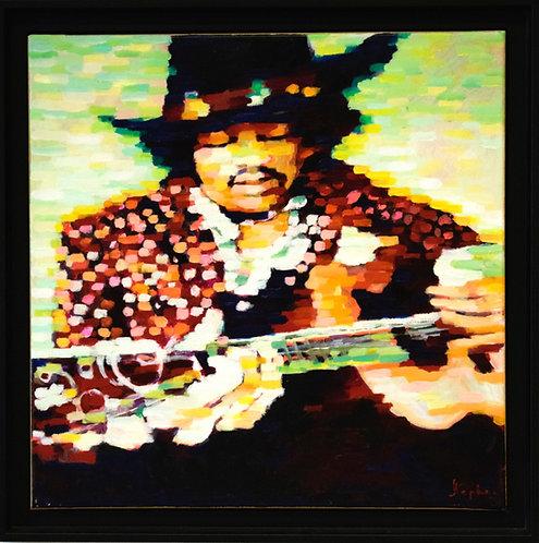Stephen Bower - Jimi Hendrix