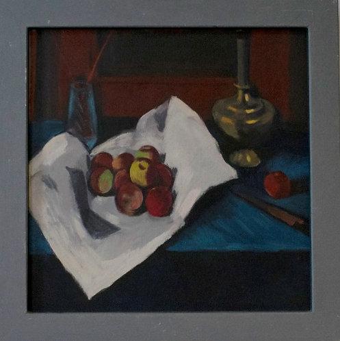 Peter Crabtree - Still Life Red Apples