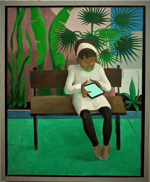 Anthony Taylor - Girl With Tablet 2014