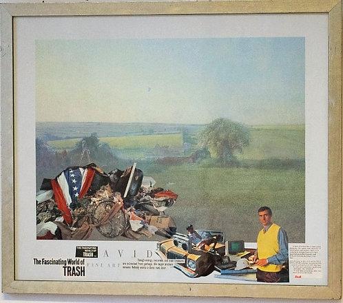 "Ken Martin - ""The Fascinating Wall of Trash"""