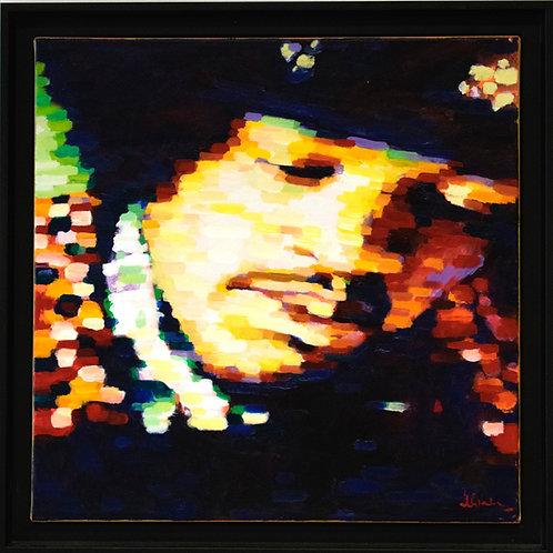 Stephen Bower - Jimi Hendrix Portrait