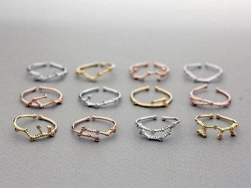 Constellation Zodiac Rings Wholesale