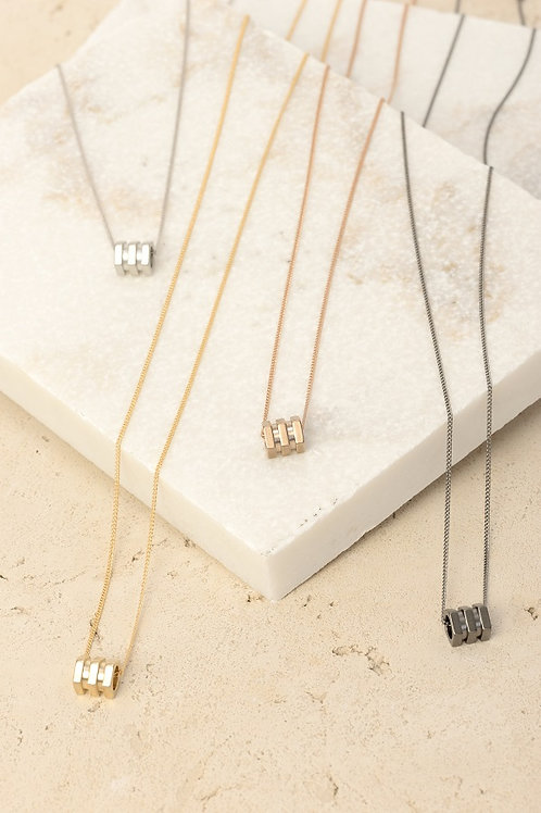 Tri-Bolt Necklace Wholesale