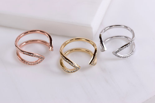Claire Arrow Ring
